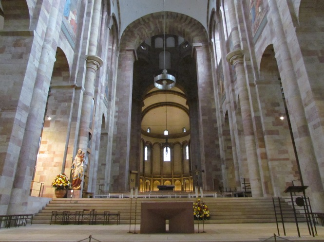 Choir and apse of Cathedral