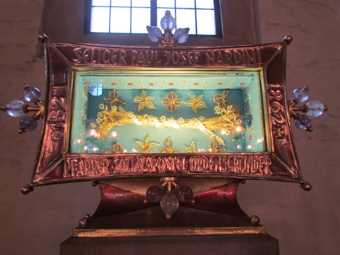 Relic of Saint Paul Josef Nardini
