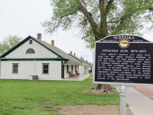Officer's Row, oldest original buildings of Fort Robinson