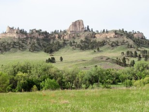 Pine Ridge, north of Fort Robinson