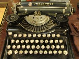 Mari Sandoz's typewriter