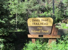 Trailhead to Devil's Head