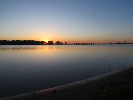 Sunrise at Lake Ogallala