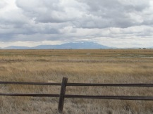 Looking at Blanca Massif from Monte Vista NWR