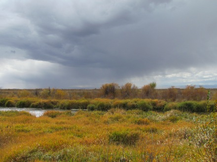 Fall storm in the San Luis Valley