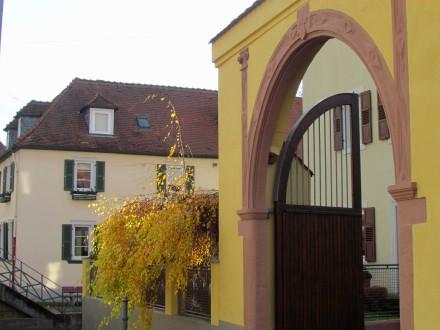 Renaissance-era archway