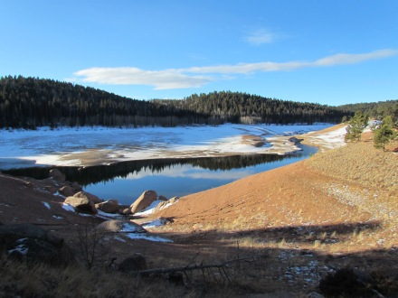 Rampart Reservoir