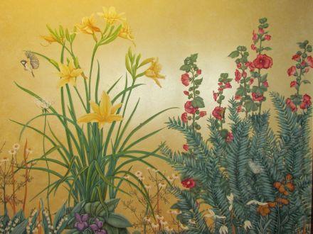 Mural detail/Detail der Wandbemalung