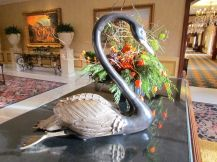 Swan statue/Schwanenstatue