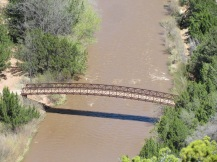 Bridge across the Pecos
