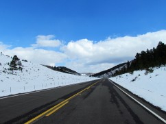 Driving back into winter