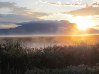 Sunrise at Alamosa National Wildlife Refuge