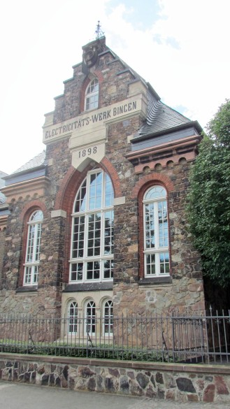 Hildegard von Bingen Museum in Bingen, located in a former power plant along the bank of the Rhine River.