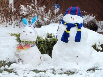 Snow creations/Schneekreationen