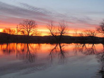 Sunrise at Sinton Pond/Sonnenaufgang
